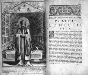 Early European translation of Confucian texts: Public Domain