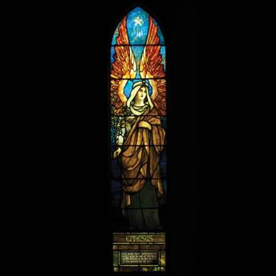 The Angel of Ephesus: Louis Comfort Tiffany
