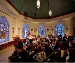 The Chapel in Stinson-Remick Hall; Photo by Matt Cashore