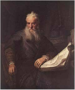 The Apostle Paul: Rembrandt, 1633