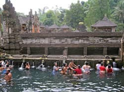 Tirtha Empul temple in Bali