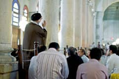 Contemporary imam teaching in a Damascus mosque: photo courtesy of paalia via C.C. License at Flickr