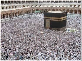 Kaaba: photo courtesy of m0h via C.C. License at Flickr