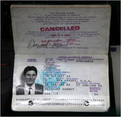 Daniel Pearl's passport: Photo courtesy of dbking via C.C. license at Flickr