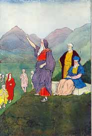 Illustration from The Boys of the Bible: by Hartwell James 1905 via Wikimedia CC