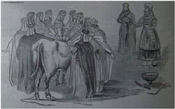A sin offering for the community from the 1890 Holman Bible via Wikimedia CC