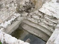 Title: Ancient mikvah Source: http://www.flickr.com/photos/goldberg/160388647/
