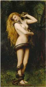 Lilith by John Collier (1892) - photo courtesy of rami.sedhom via C.C. License at Flickr